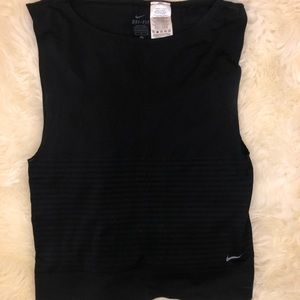 Nike dry fit muscle gym top